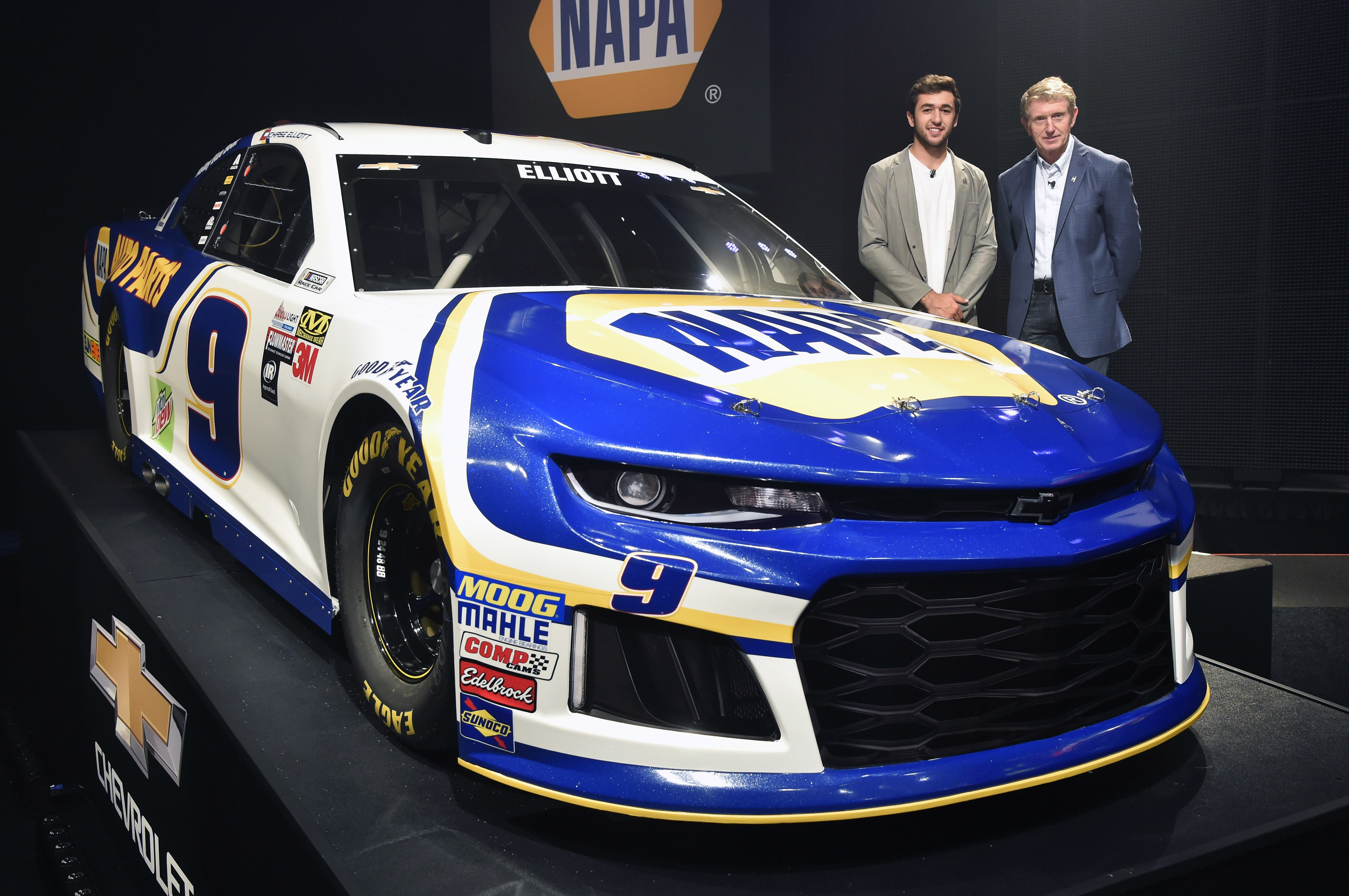 Elliott fired up to drive No. 9 NAPA AUTO PARTS Camaro in ...