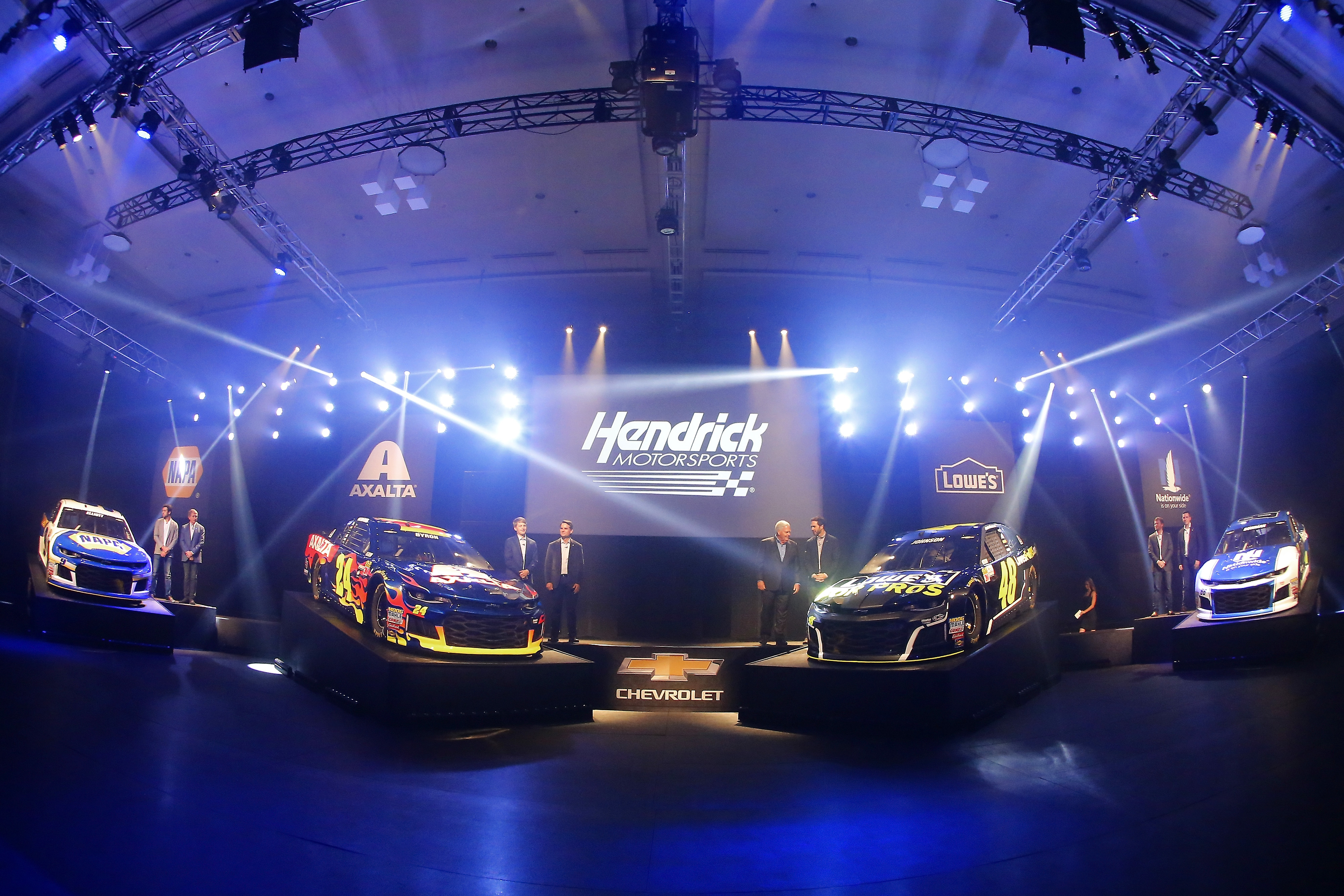 NASCAR announces stage lengths for 2018 season   Hendrick Motorsports