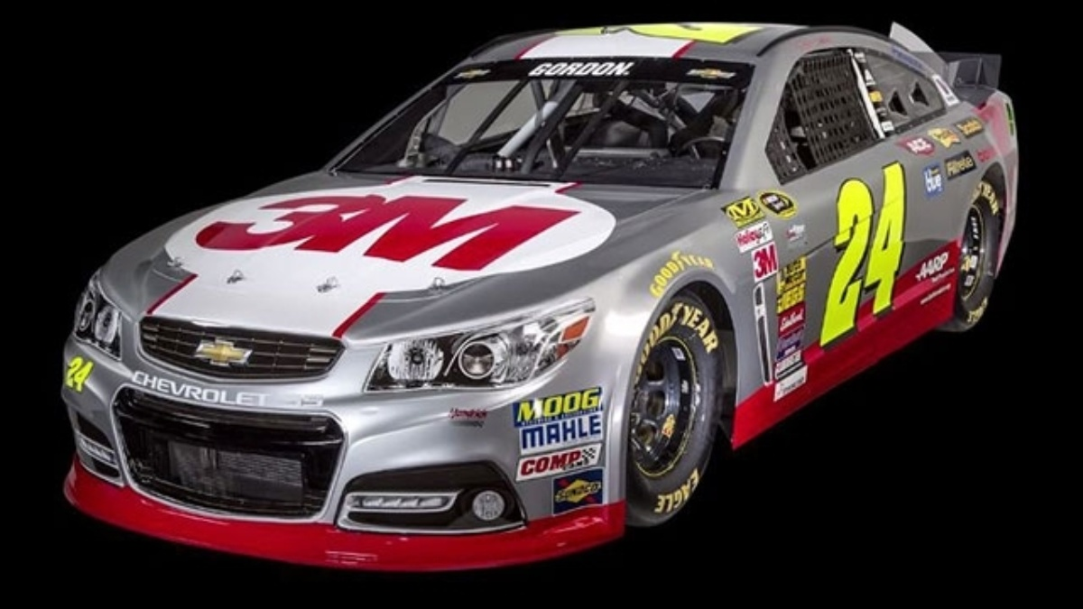 3M paint scheme for 2015 No. 24 Chevrolet SS unveiled