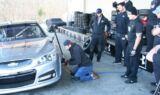 Charlotte Checkers players visit Hendrick Motorsports