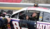 Earnhardt, Johnson join crews for live stops