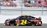 Jeff Gordon, No. 24 team at Las Vegas