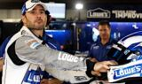 Jimmie Johnson, No. 48 team at Martinsville