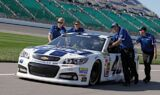Jimmie Johnson, No. 48 team at Kansas
