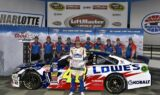Jimmie Johnson wins Charlotte pole