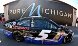Kasey Kahne, No. 5 team at Michigan