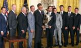 Johnson, No. 48 team visit the White House