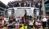 Gordon celebrates fifth Brickyard 400 victory