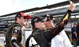 Gordon celebrates fifth Brickyard 400 victory