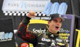Gordon wins at Michigan International Speedway