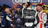 Kahne celebrates Chase-clinching victory