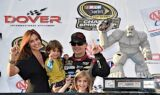 Gordon visits Victory Lane at Dover
