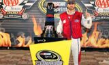 Johnson celebrates Texas Motor Speedway win