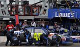 No. 48 team at Pocono