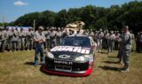 Earnhardt, No. 88 team visit Tennessee National Guard