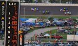 No. 5 team at Daytona