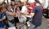 Dale Earnhardt Jr. at Chevy Day