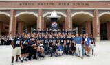 Texas high school toasts Johnson