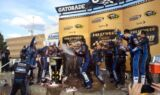 Johnson wins at Kansas