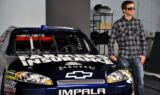 Kasey Kahne's Farmers Insurance photo shoot