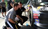 Prospects attend pit crew mini camp