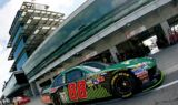 Dale Earnhardt Jr. and the No. 88 team at Indy