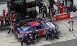 No. 88 team at Bristol Motor Speedway
