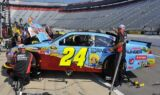 FarmVille on Jeff Gordon's No. 24 Chevy at Bristol