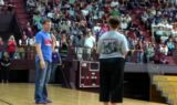 Earnhardt visits schools with the National Guard