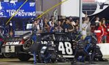 Jimmie Johnson and the No. 48 team at Atlanta