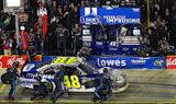 Jimmie Johnson and the No. 48 team at Charlotte