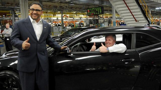 Rick Hendrick Visits Oshawa Assembly Plant To Celebrate