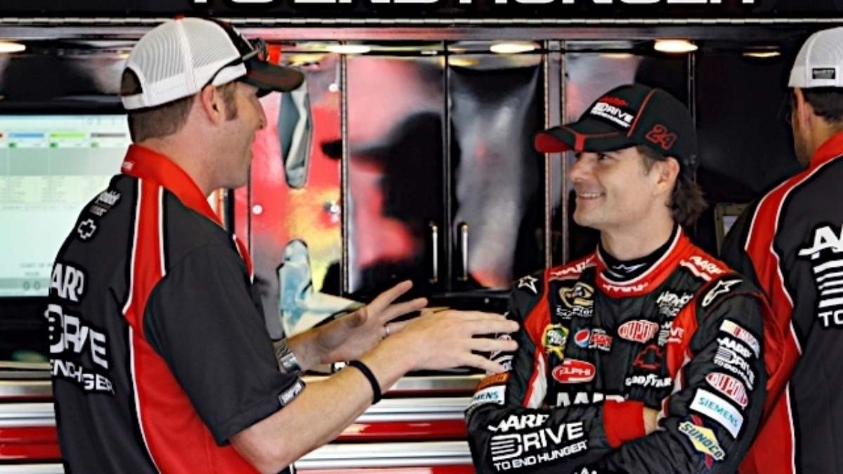 2012 season highlights: Jeff Gordon and No. 24 team