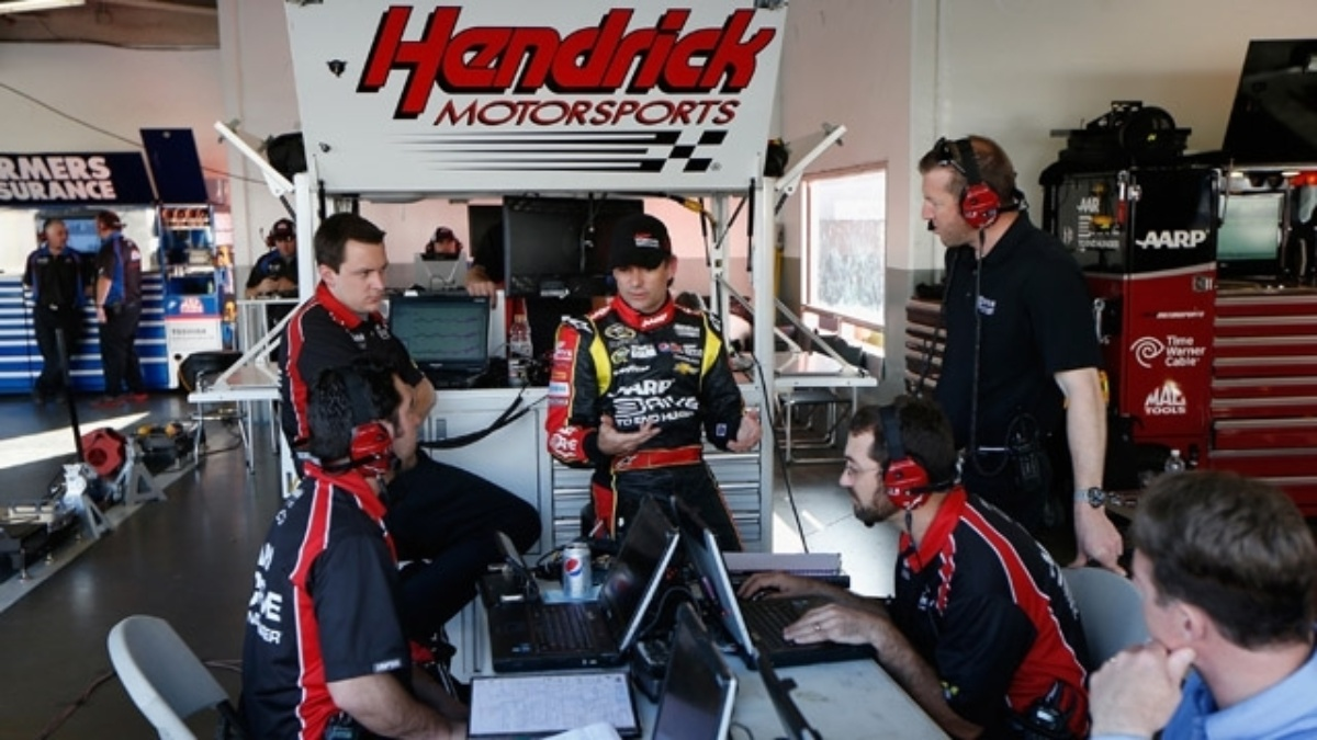 2013 Daytona testing a learning experience for Hendrick Motorsports