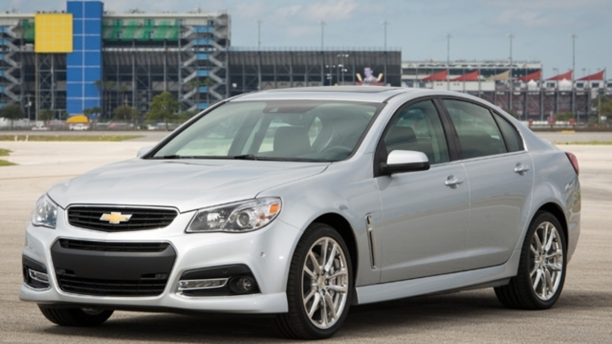 2014 Chevrolet SS production vehicle unveiled at Daytona
