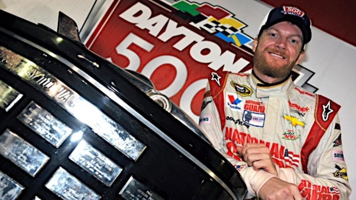2014 Daytona win locks Dale Earnhardt Jr. into All-Star Race