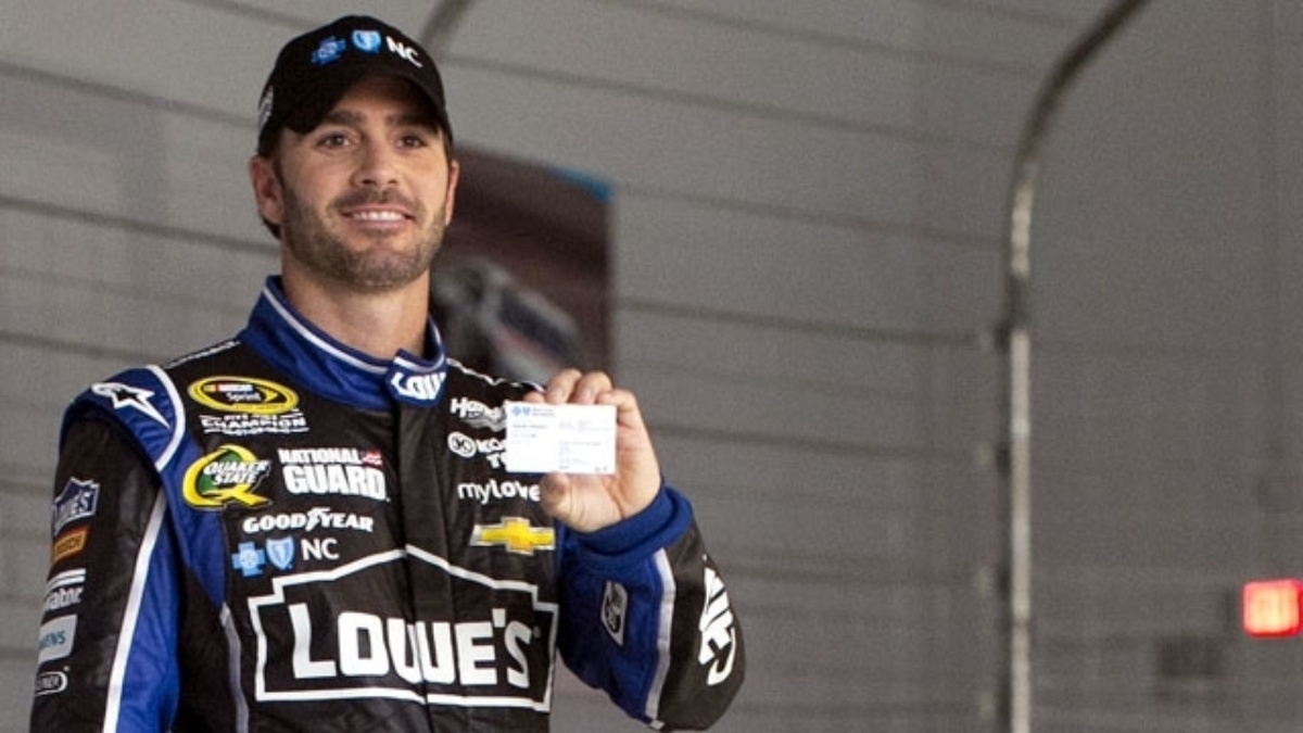 Blue Cross and Blue Shield of North Carolina partners with Hendrick Motorsports, Jimmie Johnson