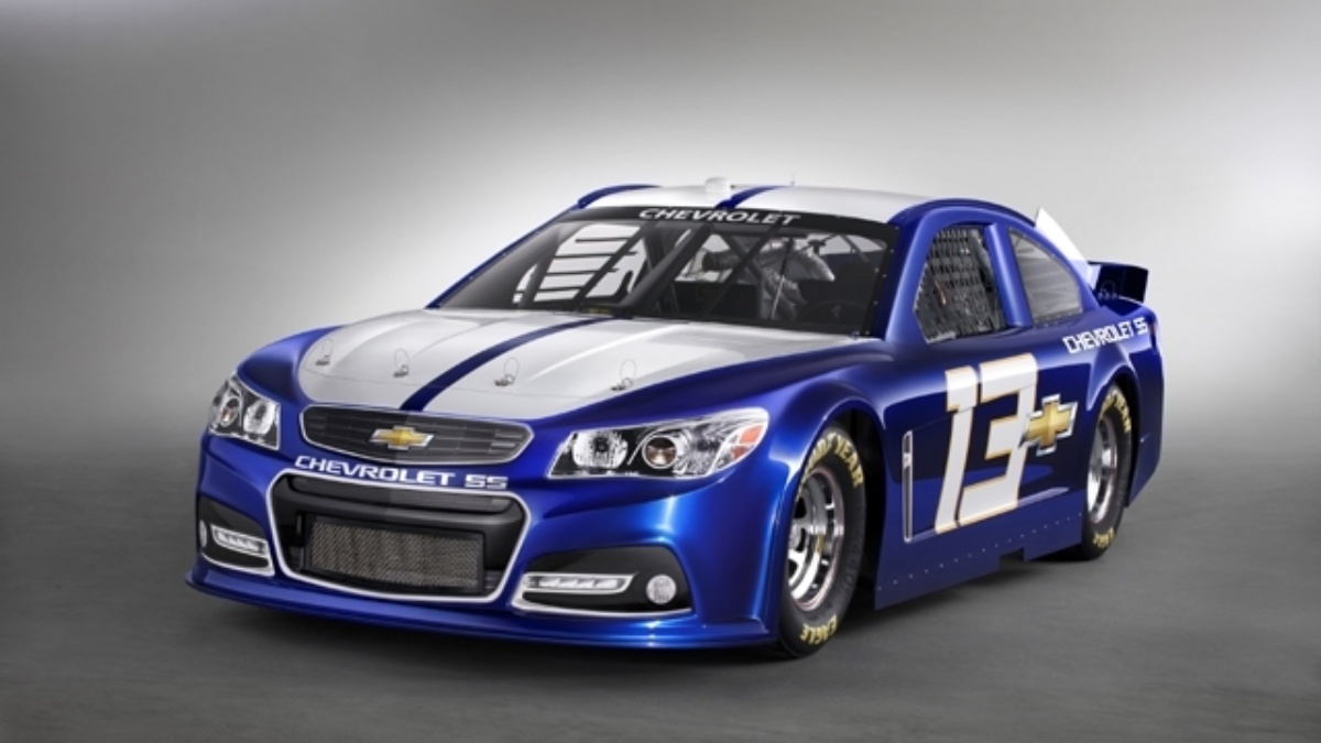 Chevrolet unveils 2013 race car