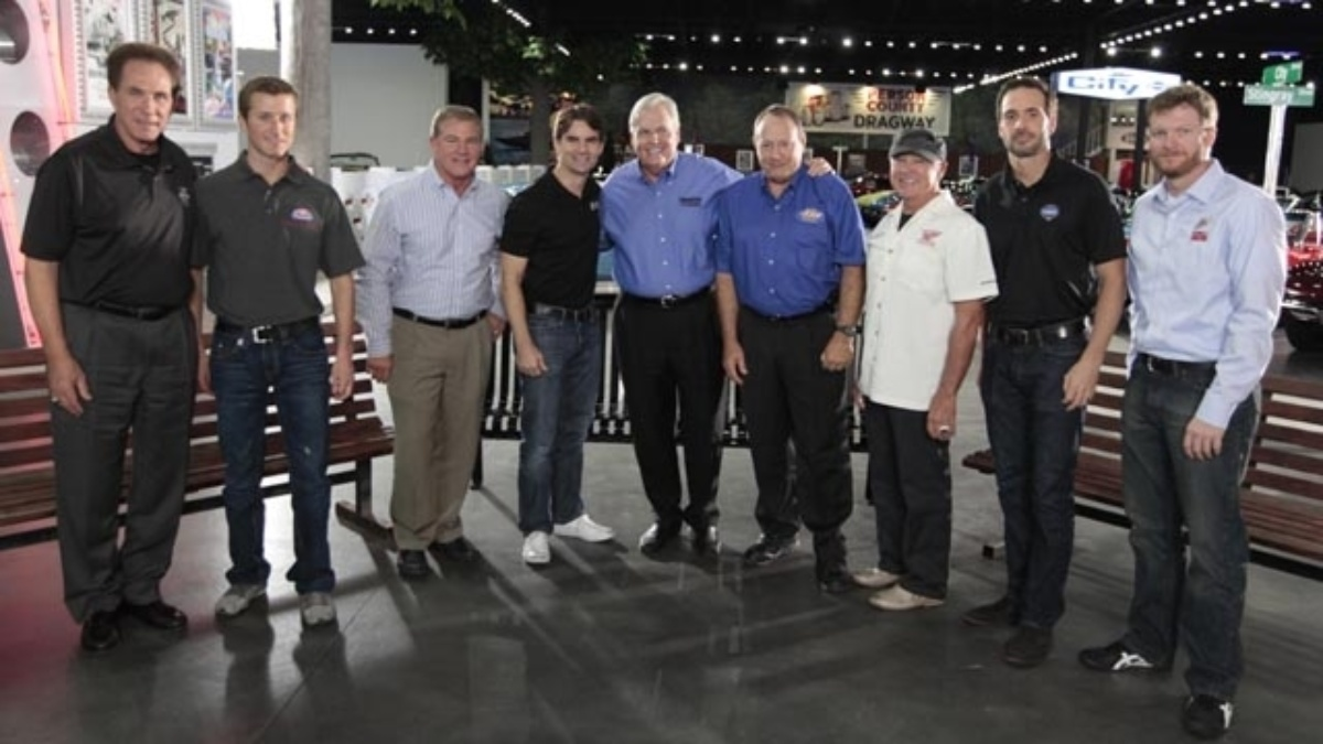 Current, past Hendrick Motorsports drivers gather to share stories in exclusive SPEED special
