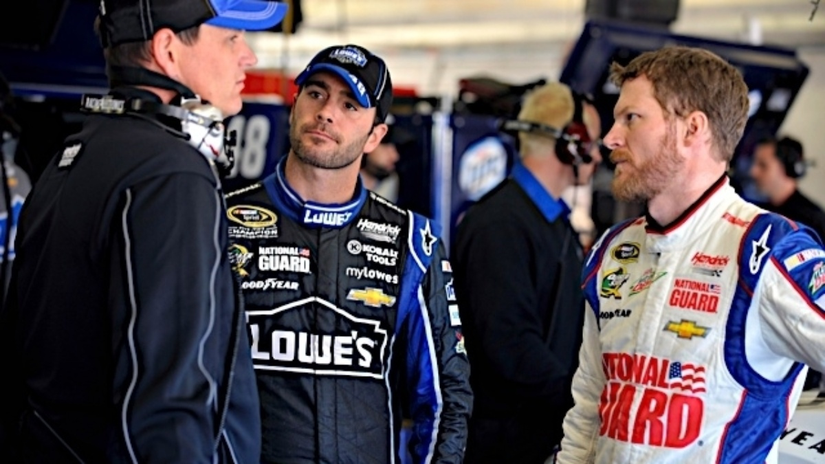 Dale Earnhardt Jr., Jimmie Johnson to host a Google+ Shoppable Hangout