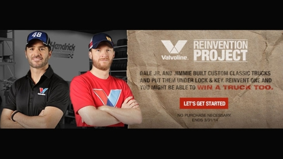 Dale Earnhardt Jr. and Jimmie Johnson team up with Valvoline for Reinvention Project