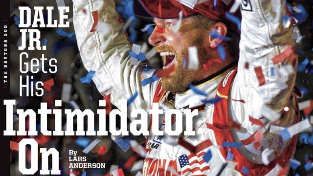 Dale Earnhardt Jr. featured on Sports Illustrated's regional cover
