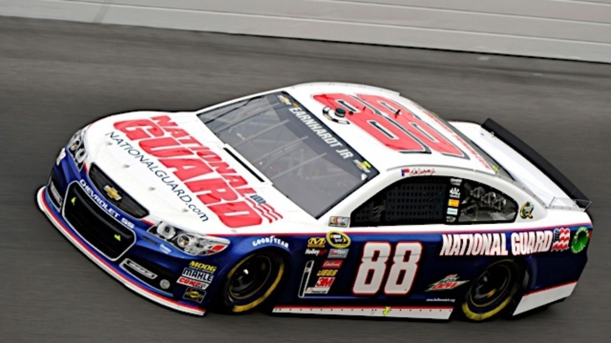 Dale Earnhardt Jr. wins pole position at Dover
