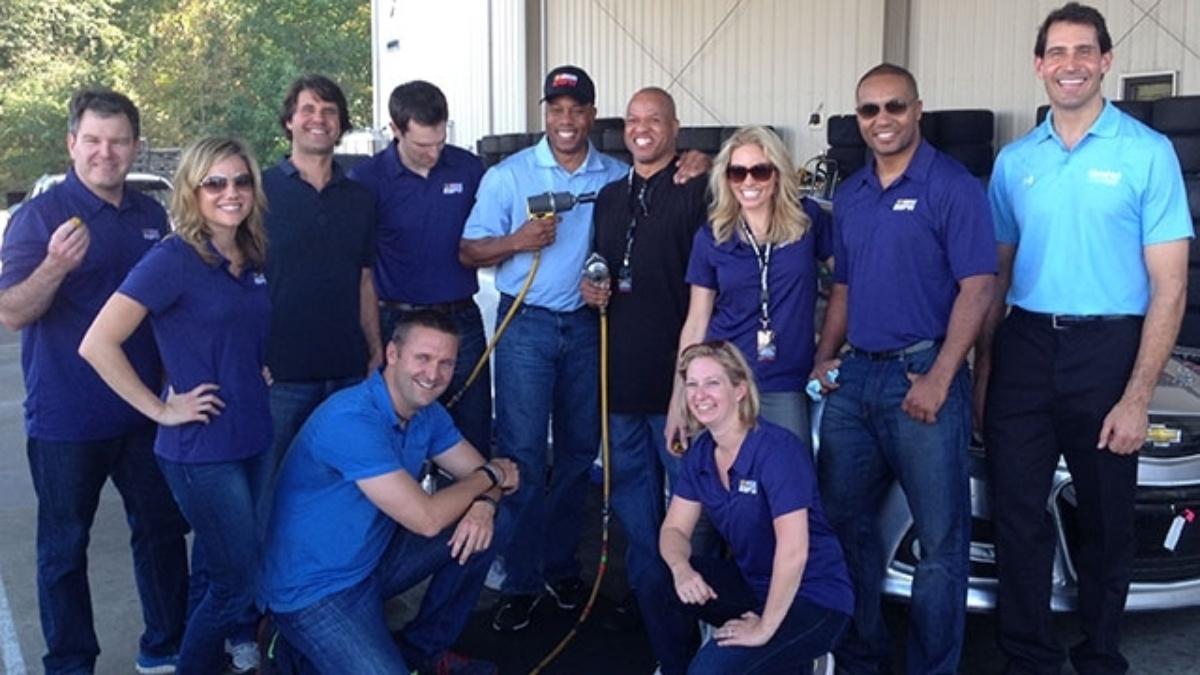 ESPN visits Hendrick Motorsports