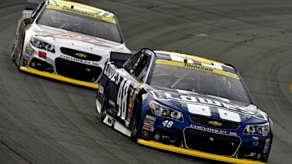 Earnhardt, Johnson eye Victory Lane at Talladega | Hendrick ...