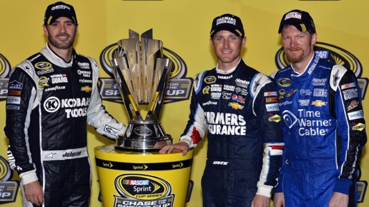 Earnhardt joins Johnson, Kahne in Chase after Richmond run
