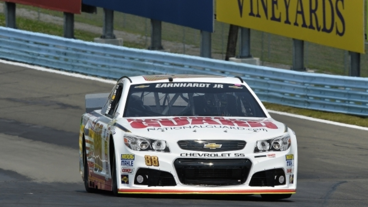 Earnhardt's Watkins Glen finish moves him to top of standings