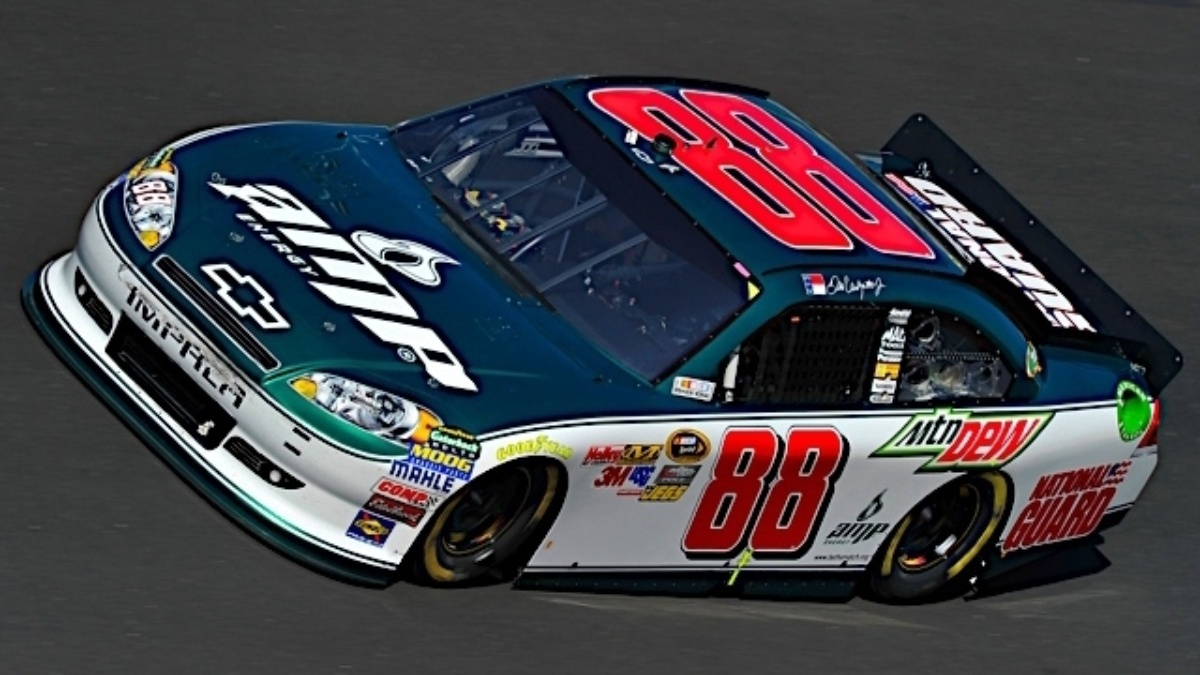 Earnhardt third, teammates in top 24 at Chicagoland