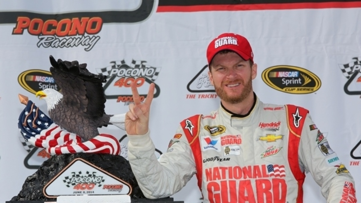 Earnhardt voted among America's favorite athletes