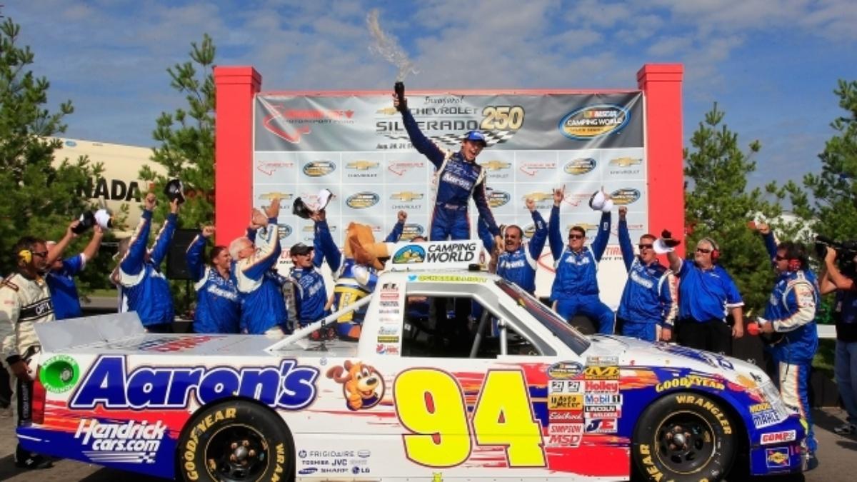 Elliott makes history as youngest winner in NASCAR Trucks history